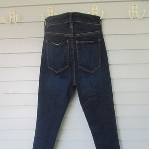 loft high waist skinny jeans
